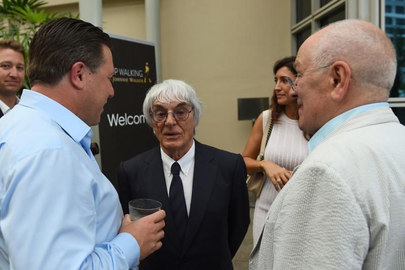 Bernie Ecclestone, Zak Brown