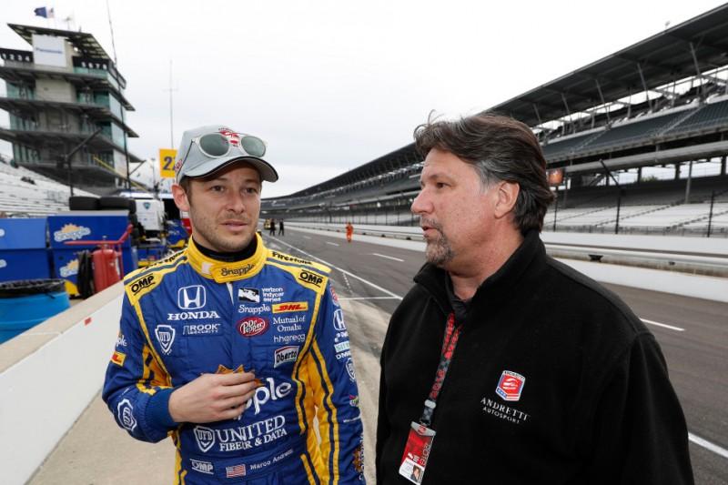 Marco Andretti, Michael Andretti