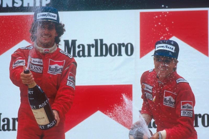 Alain Prost, Stefan Johansson