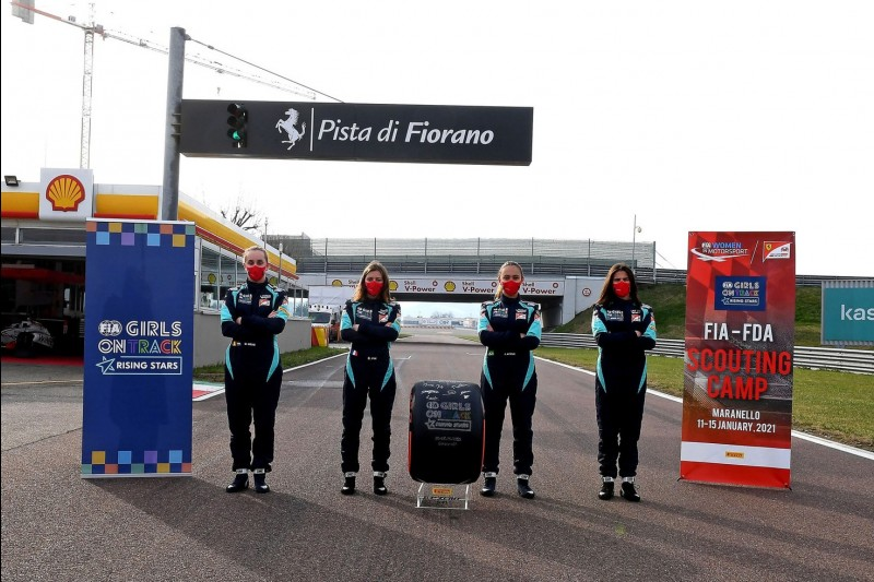 Girls on Track, Ferrari-Sichtung, Fiorano