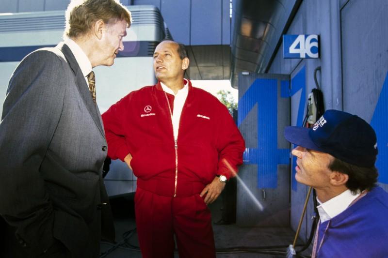 Ron Dennis, Max Mosley, Frank Williams