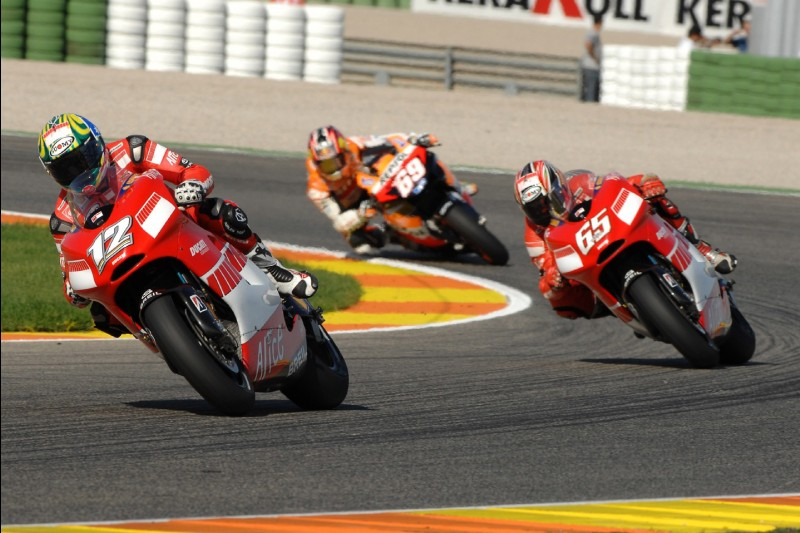 Troy Bayliss, Loris Capirossi, Nicky Hayden