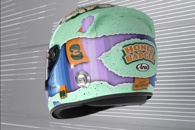 Helm: Daniel Ricciardo