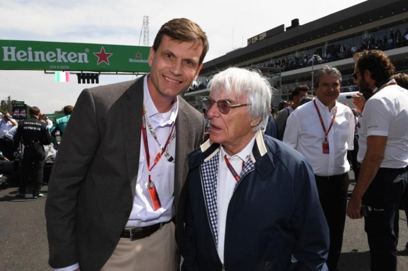 Tavo Hellmund, Bernie Ecclestone