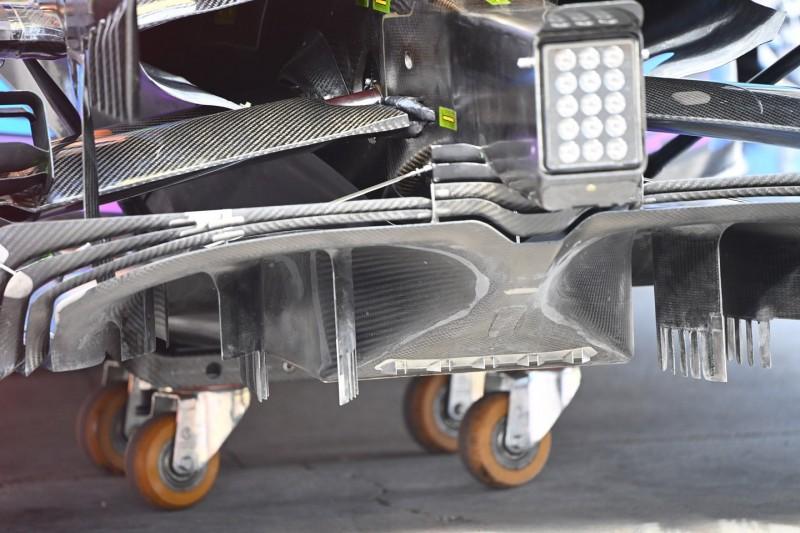 McLaren MCL35, Diffusor