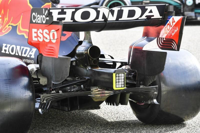 Red Bull RB16B, Diffusor