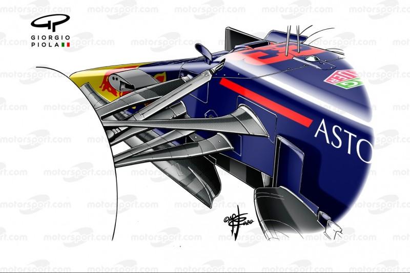 Red Bull RB16B, Vorderradaufhängung