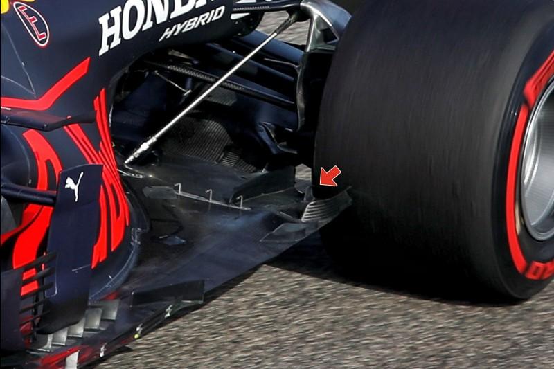 Sergio Perez, Unterboden