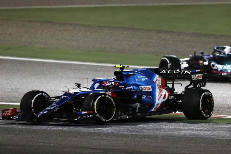 Sebastian Vettel, Esteban Ocon