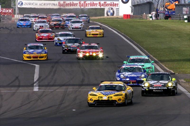Pedro Lamy, Michael Bartels, 24h Nürburgring, Startphase 2001