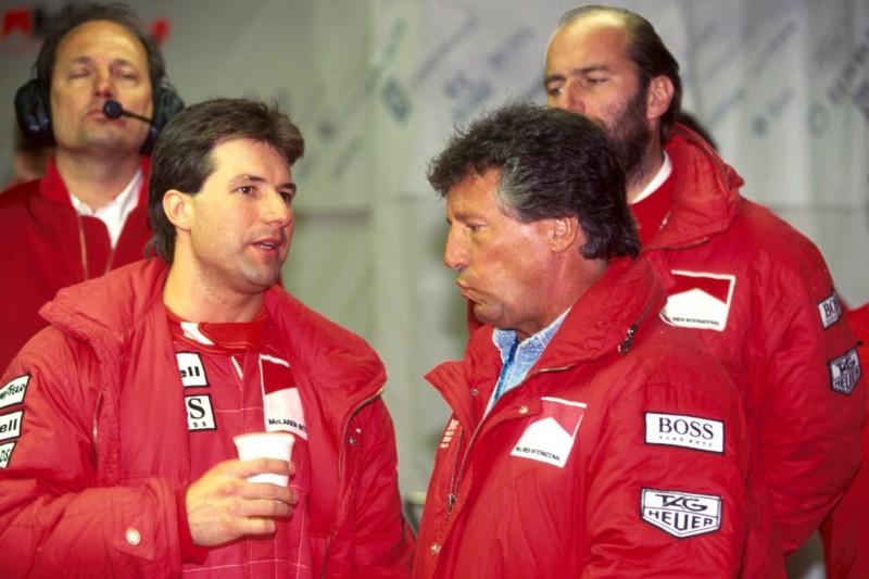 Michael Andretti, Mario Andretti