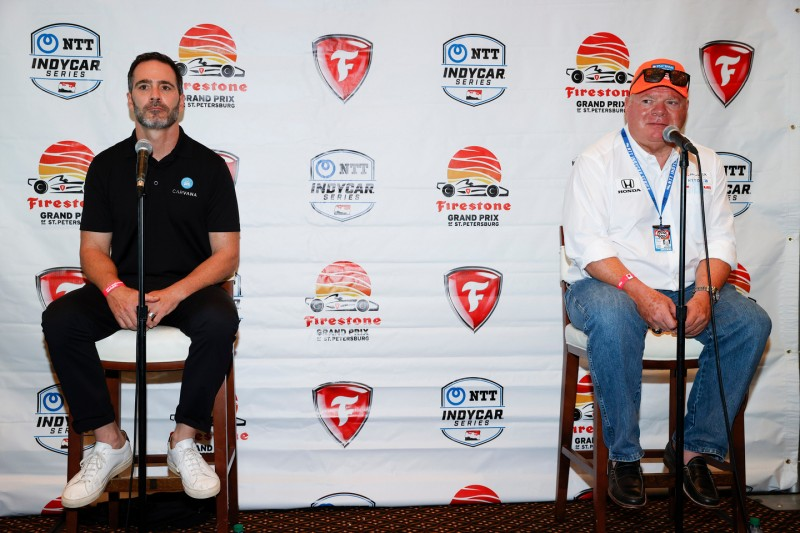 Jimmie Johnson, Chip Ganassi