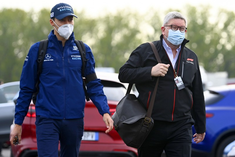 George Russell, Ross Brawn