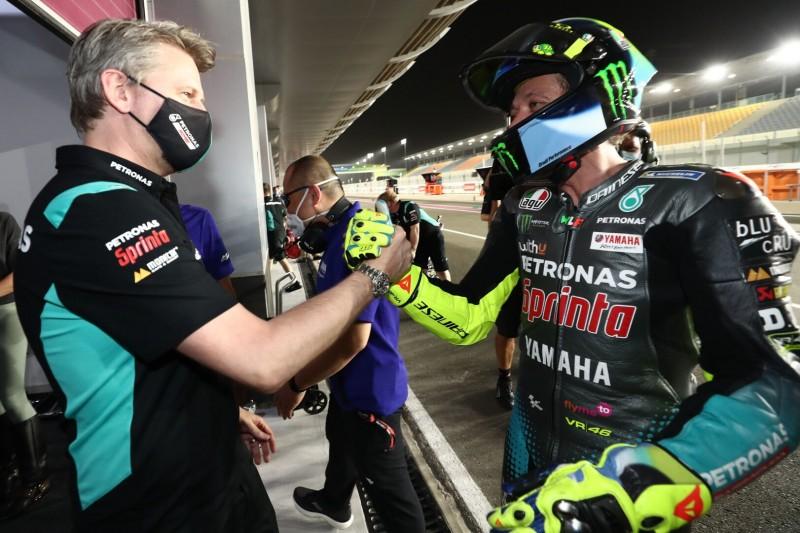 Valentino Rossi, Johan Stigefelt