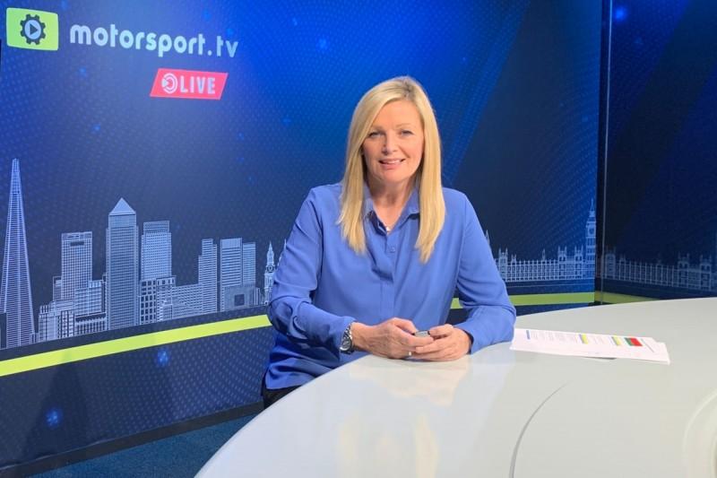 Diana Binks, Motorsport.tv Live