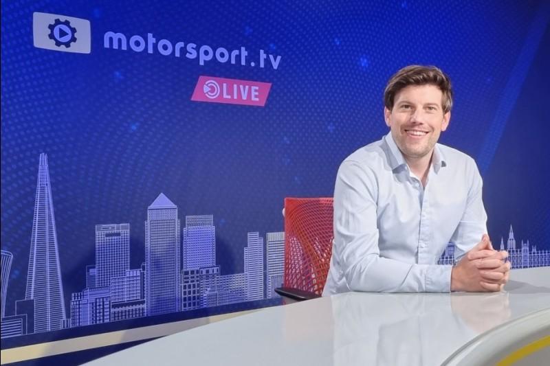 Bryn Lucas, Motorsport.tv Live