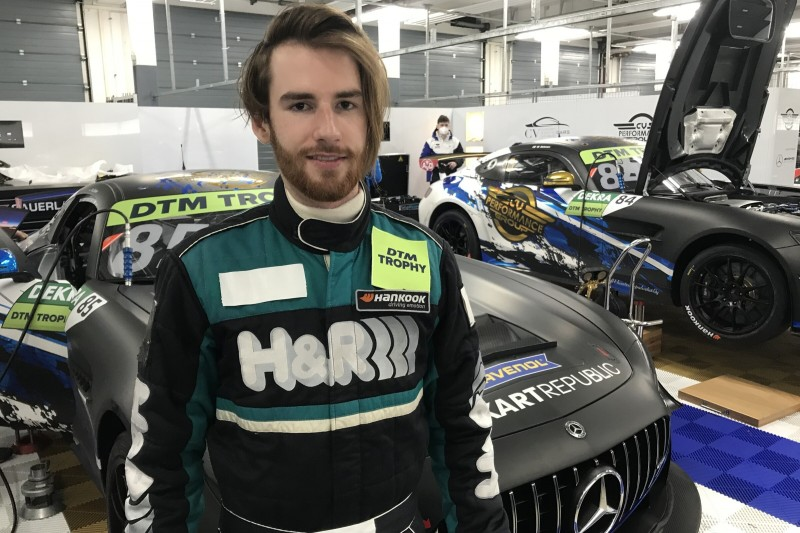 Moritz Löhner (GER) bei DTM-Trophy-Testfahrten