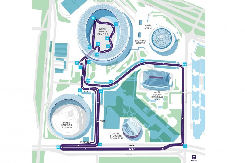 Streckenlayout: Stadtkurs in Seoul für die Formel E