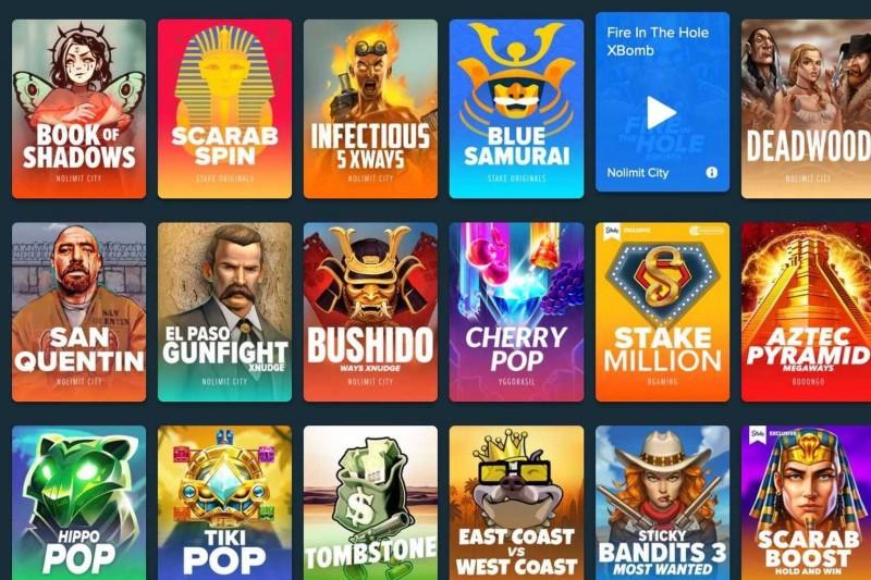 Stake.com Casino-Spiele