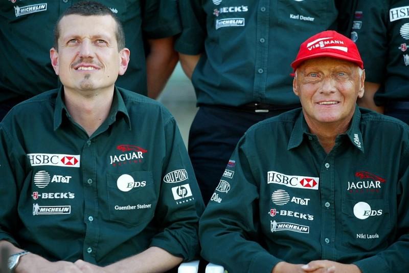 Günther Steiner, Niki Lauda