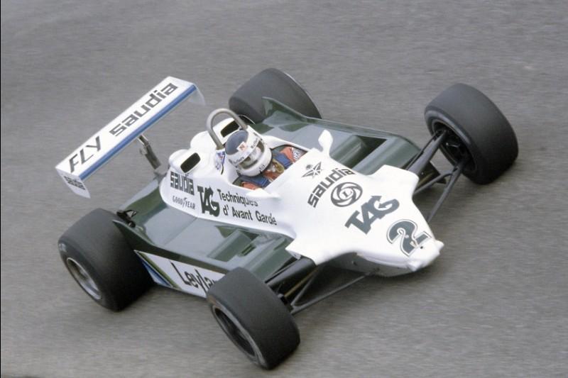 Carlos Reutemann im Williams FW07C beim GP Italien 1981 in Monza