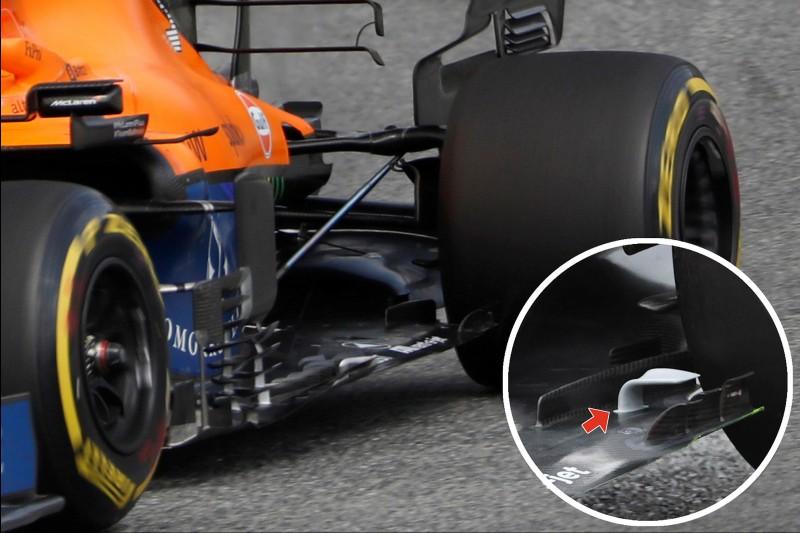 McLaren-Unterboden
