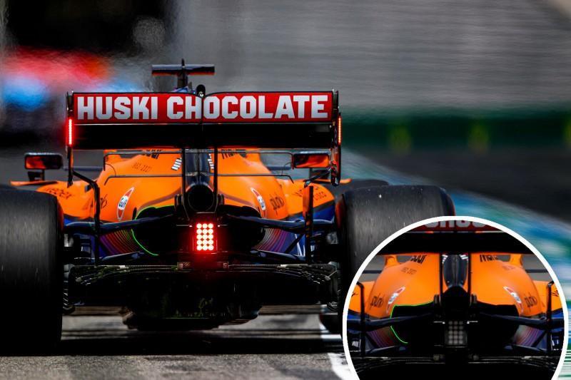 McLaren-Kühlöffnung