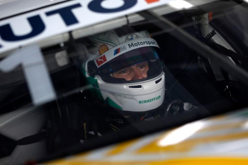 Marco Wittmann in seinem BMW M6 GT3 bei den DTM-Testfahrten auf dem Lausitzring