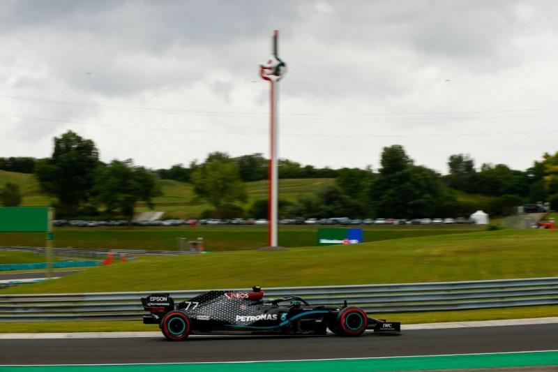 Valtteri Bottas im Mercedes F1 W11 während des Ungarn Grand Prix 2020