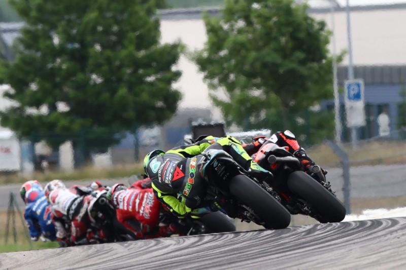 MotoGP-Action beim GP Deutschland 2021 auf dem Sachsenring