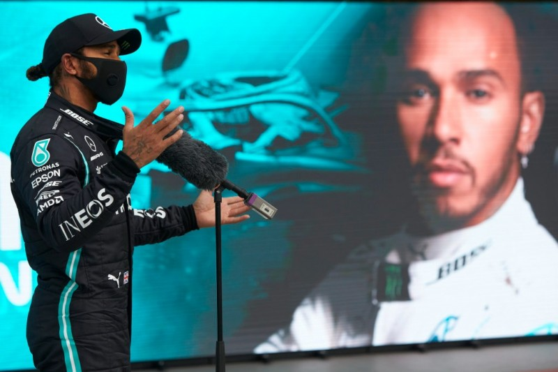 Lewis Hamilton holte 2020 einen weiteren Sieg