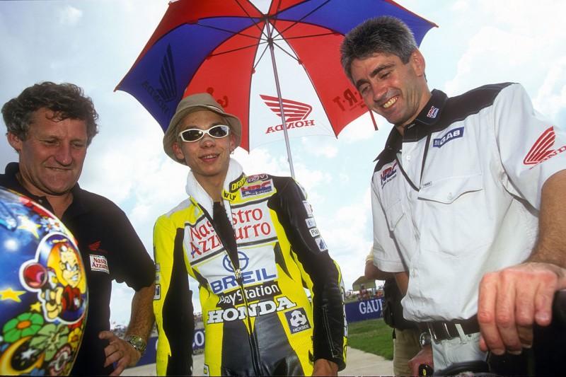 Jeremy Burgess, Valentino Rossi, Mick Doohan