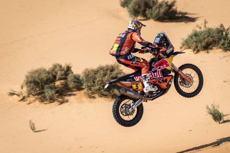KTM-Pilot Sam Sunderland bei der Rallye Dakar 2021