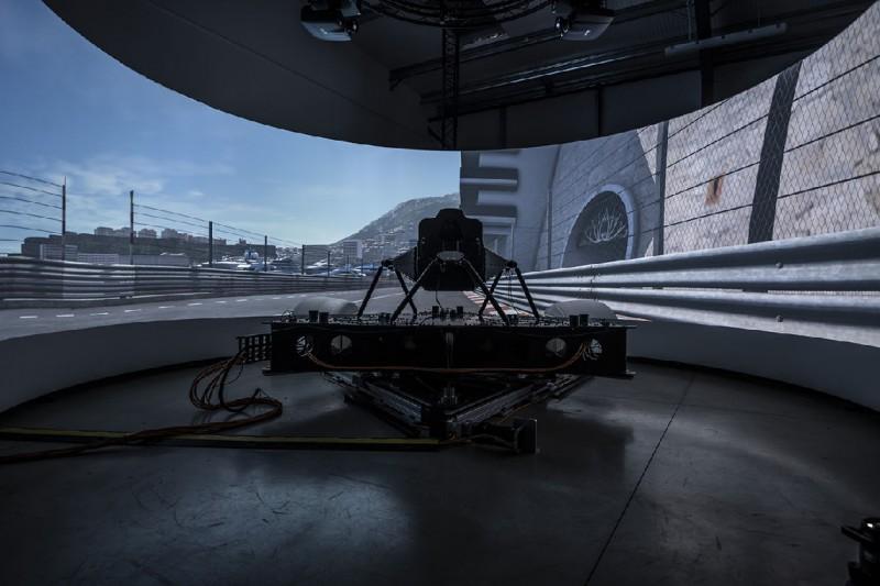 Ferrari-Simulator von Dynisma