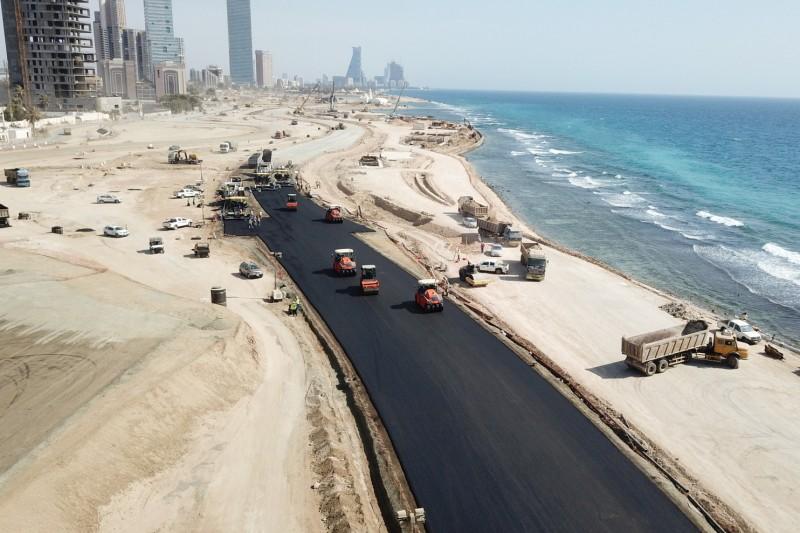 Der neue Formel-1-Kurs von Saudi-Arabien in Dschidda