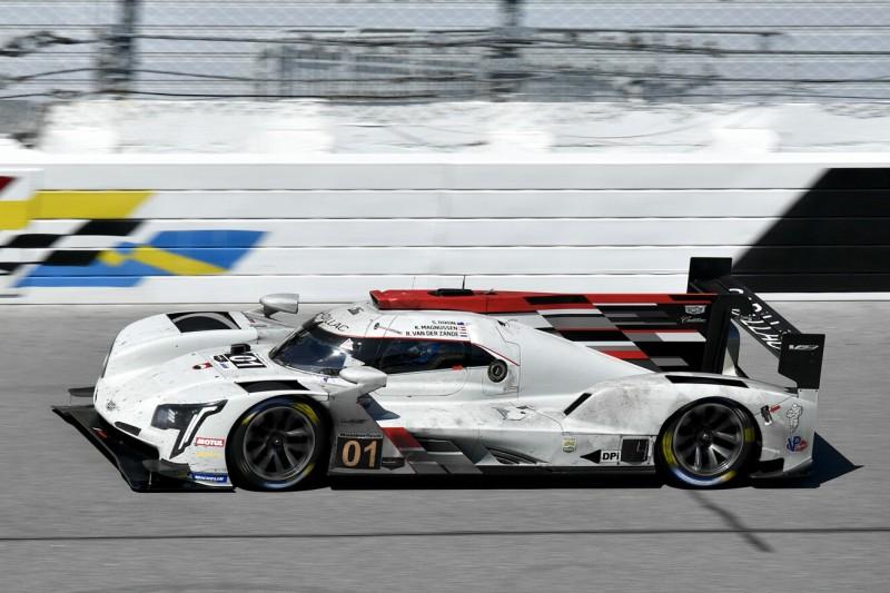 Cadillac DPi-V.R des Teams Chip Ganassi auf der Rennstrecke von Daytona