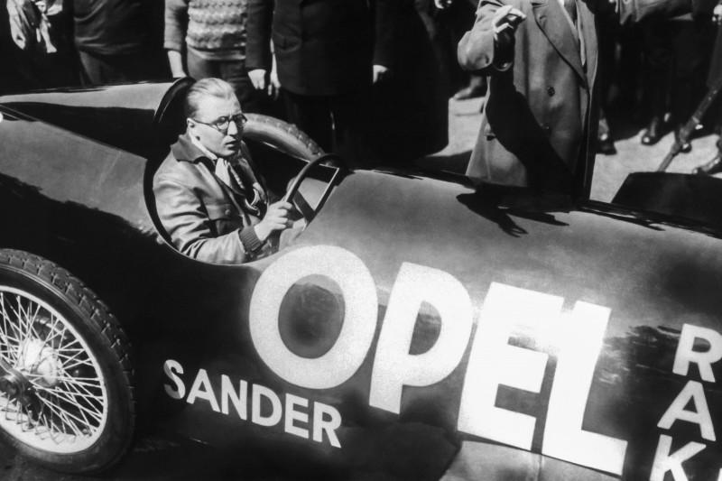 AVUS, Opel, Fritz von Opel