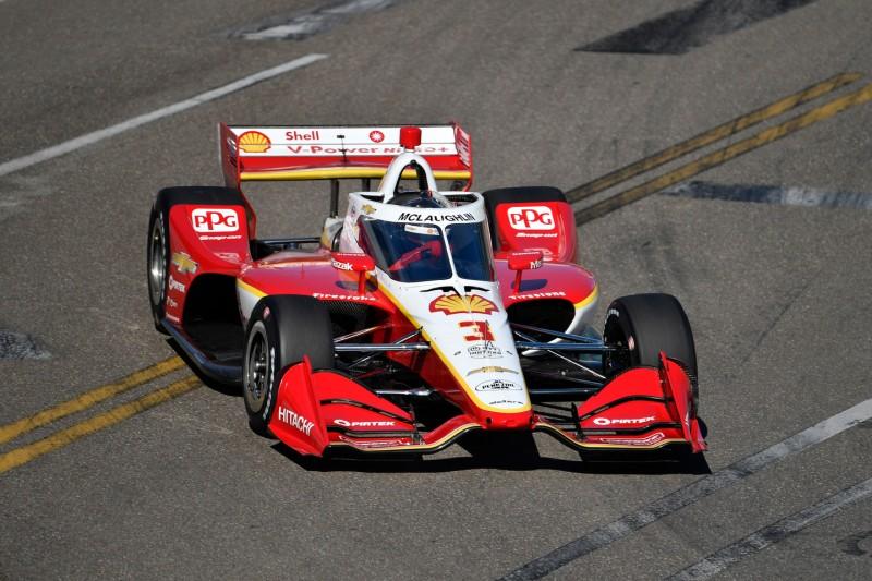 Scott McLaughlin bei seinem IndyCar-Debüt im Oktober 2020 in St. Petersburg
