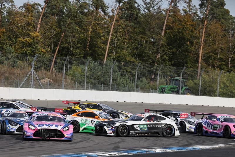 DTM-Crash am Hockenheimring: In der Spitzkehre kollidieren mehrere Autos