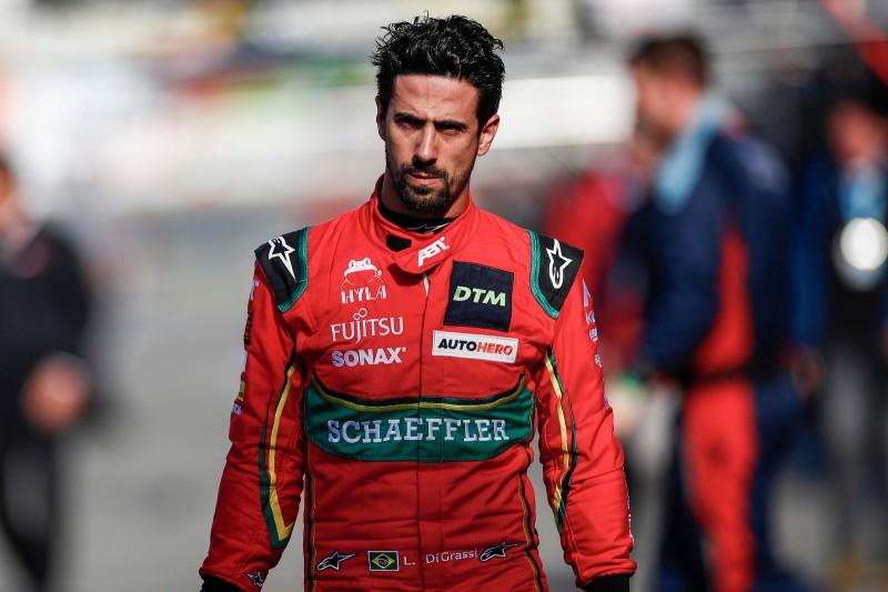 Lucas di Grassi bei seinem DTM-Gaststart für Abt-Audi