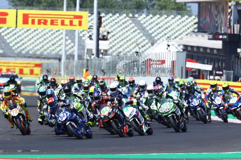 Start der Supersport-300-Klasse in Misano 2021