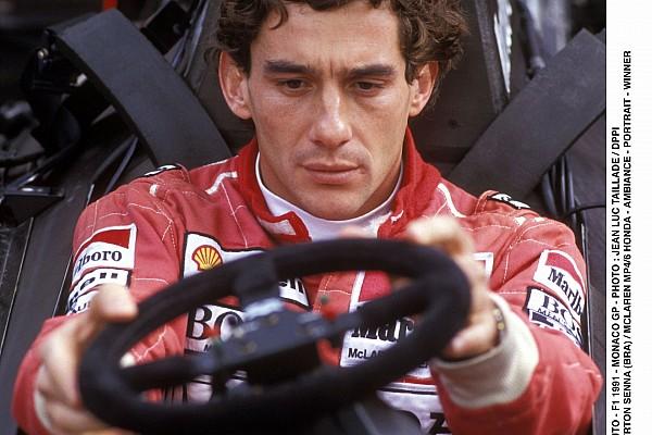 AUTO - F1 1991 - MONACO GP - PHOTO : JEAN LUC TAILLADE / DPPI AYRTON SENNA (BRA) / MCLAREN MP4/6 HONDA - AMBIANCE - PORTRAIT - WINNER