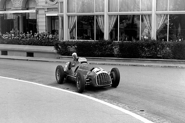 MOTORSPORT - F1 1950 - MONACO GRAND PRIX - 21/05/1950 - MONTE-CARLO (MON) - PHOTO : DPPI / LAT Luigi Villoresi - Ferrari 125 - Action Ferrari first F1 GP