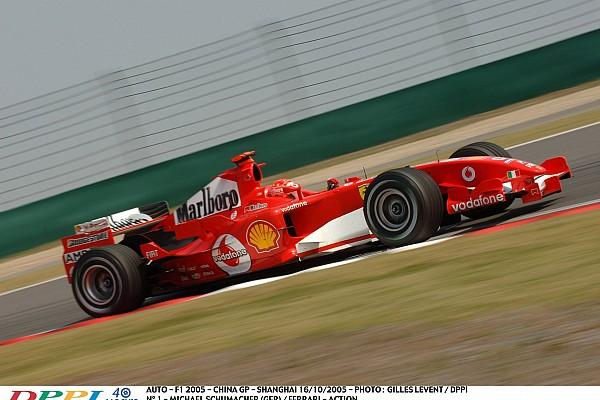 AUTO/F1 CHINA 2005