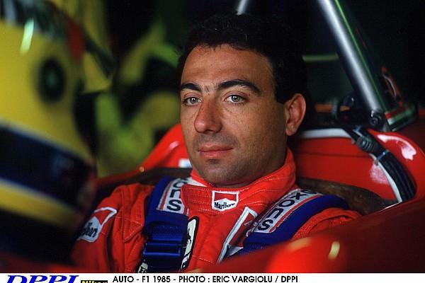 AUTO - F1 1985 - PHOTO : ERIC VARGIOLU / DPPI MICHELE ALBORETO (ITA) / FERRARI - PORTRAIT - AMBIANCE