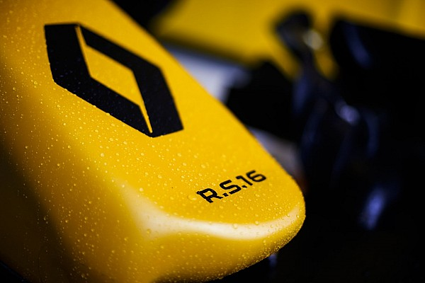 Renault F1 RS.16 driver Renault Sport F1 team front wing detail during 2016 Formula 1 championship at Melbourne, Australia Grand Prix, from March 18 To 20 - Photo Florent Gooden / DPPI