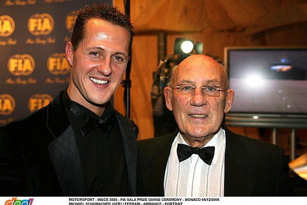 MOTORSPORT - MISCS 2006 - FIA GALA PRIZE GIVING CEREMONY - MONACO 08/12/2006 MICHAEL SCHUMACHER (GER) / FERRARI - AMBIANCE - PORTRAIT SIR STIRLING MOSS - AMBIANCE - PORTRAIT