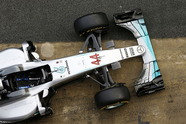 F1 - MERCEDES W07 LAUNCH - 2016
