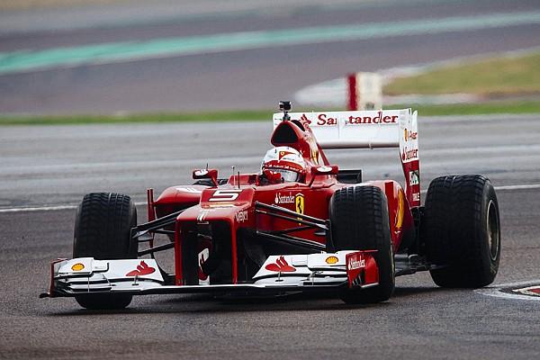 F1 - SEBASTIEN VETTEL FERRARI TEST 2014