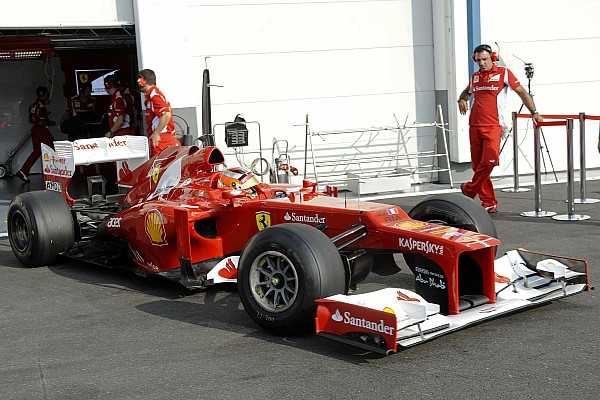 F1 2012 - ROOKIE TESTS AT MAGNY COURS
